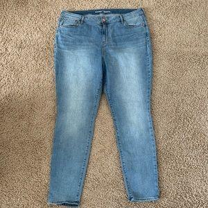 Old Navy Rockstar Skinny Jeans Light Wash